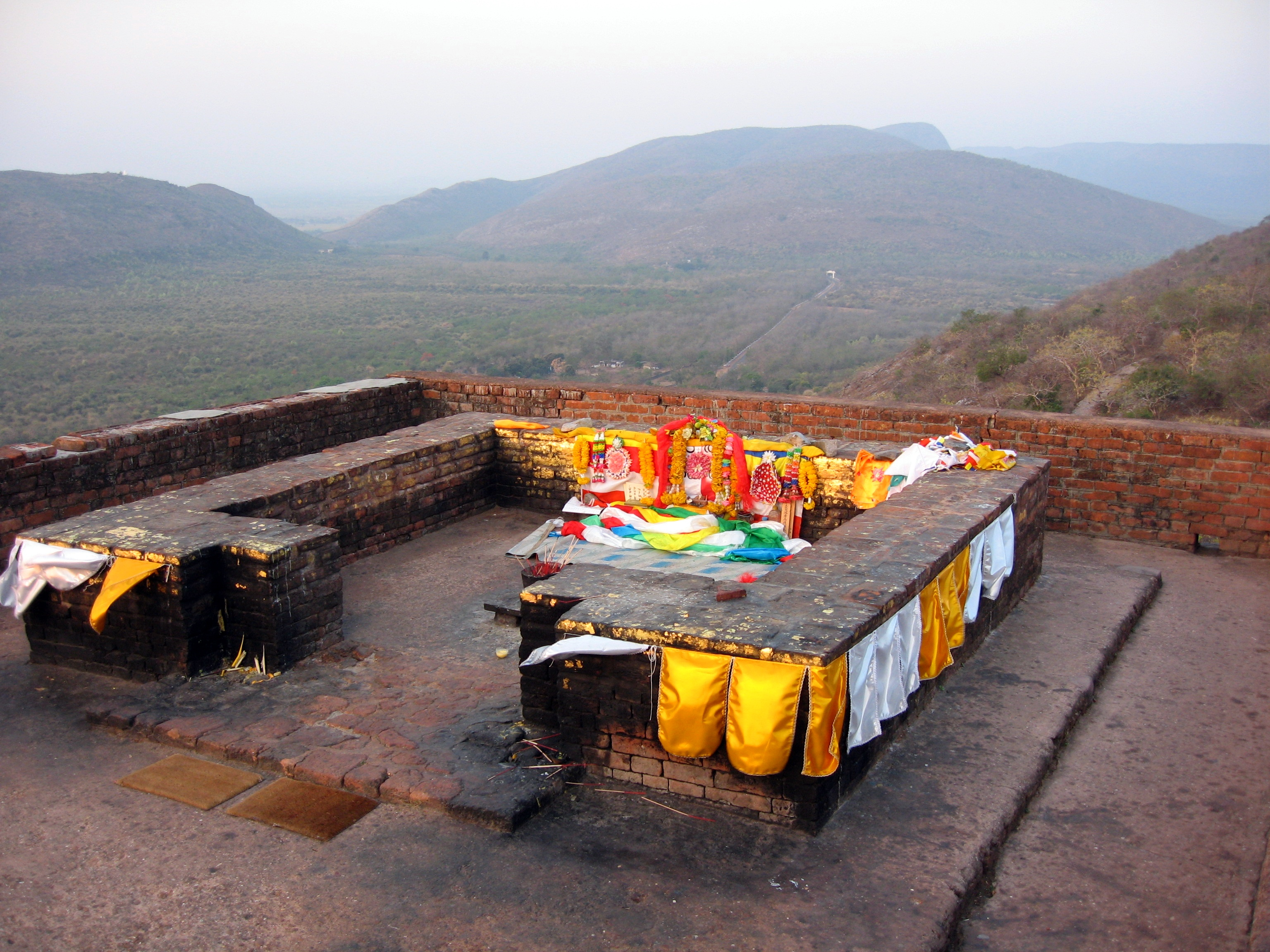 Budhha Shakyamuni's favorite spot on Gridhakuta Hill (Vulture Peak) near Rajgir, Bihar, India